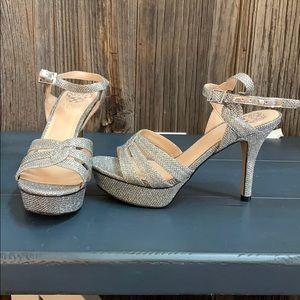 Vince Camuto Sparkle Stiletto Heels